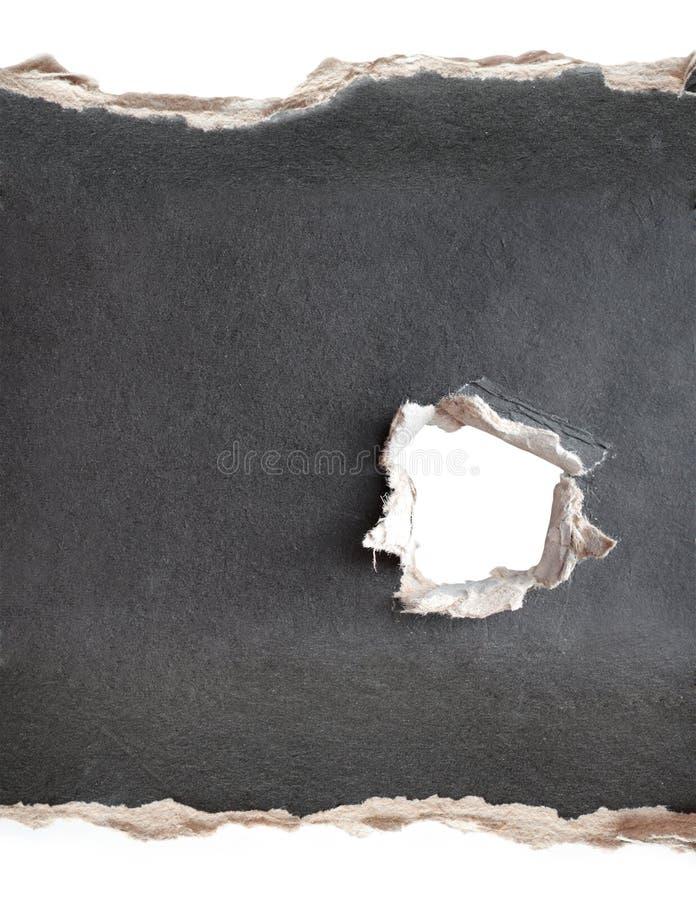 Download Trou Avec Les Bords Fragmentaires Image stock - Image du choc, texture: 8652875
