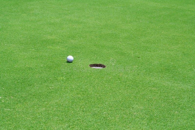 Trou De Golf Photo stock