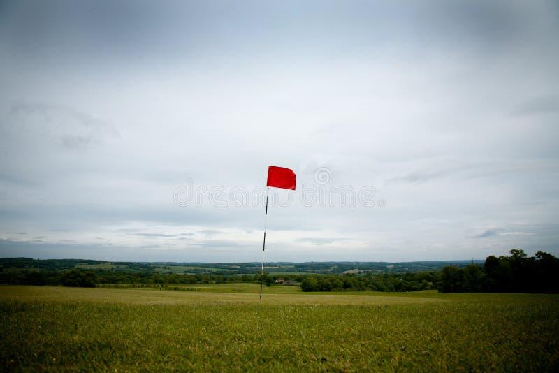 Trou de golf large photographie stock libre de droits