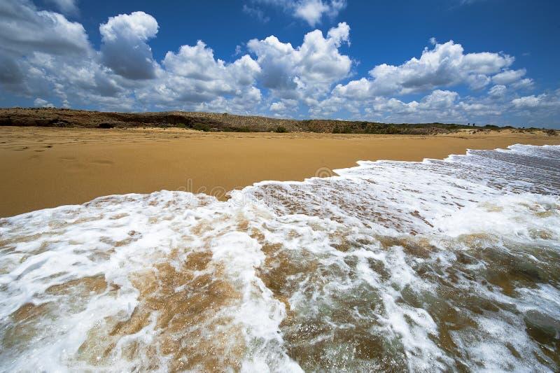 Trou de marée photographie stock