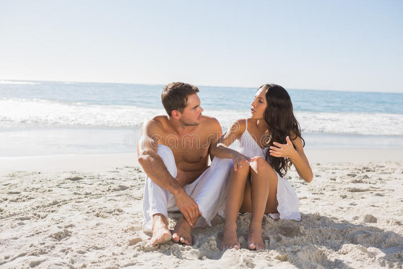 Download Trouble in paradise stock photo. Image of dress, handsome - 33053698