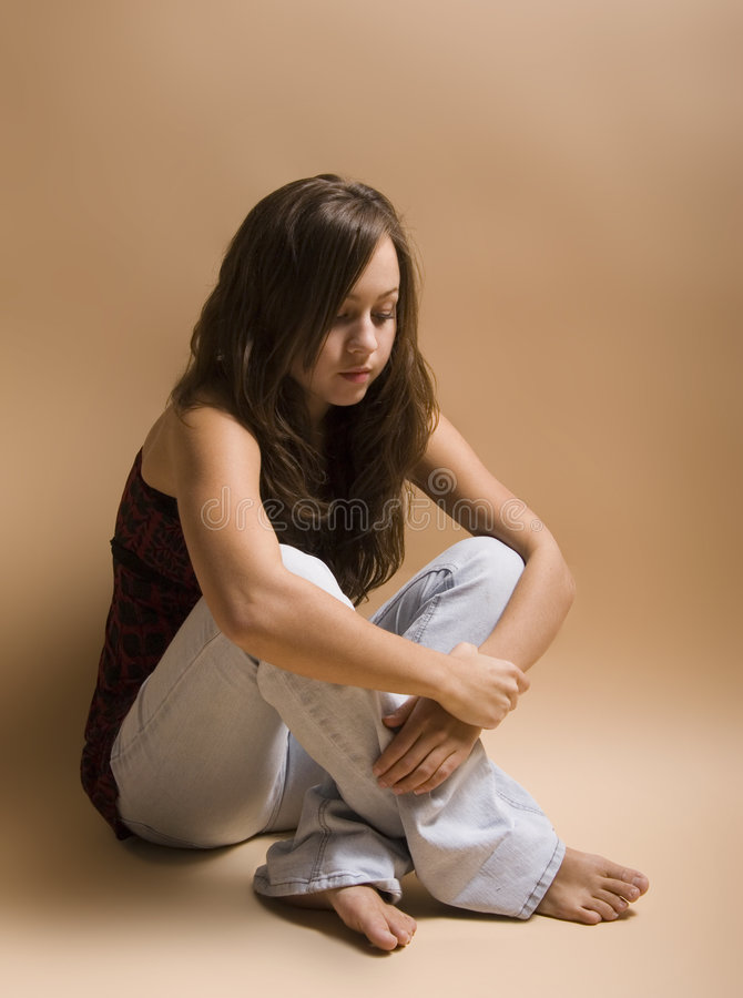 Troubled Youth royalty free stock image