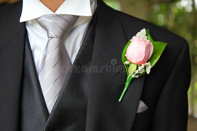Trous de bouton de Rose photos stock