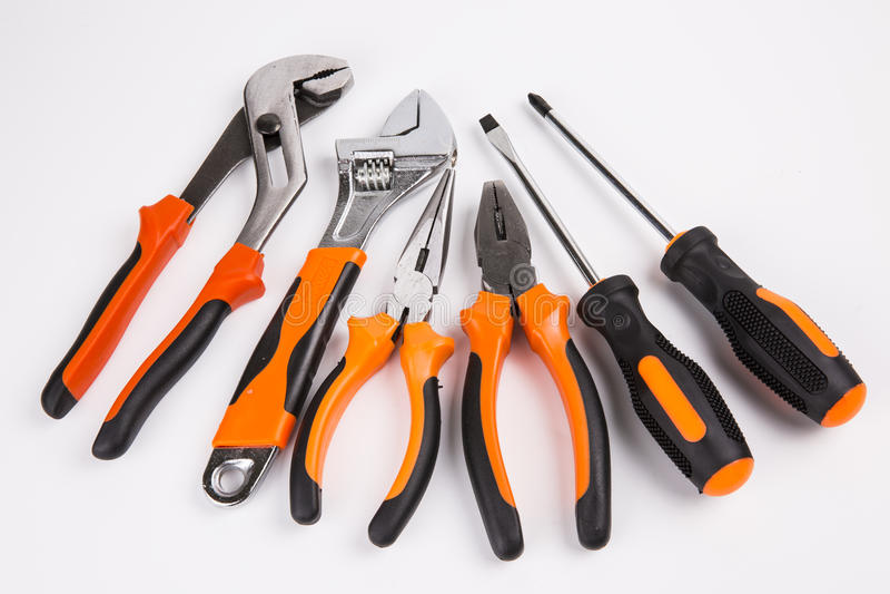 Trousse à outils images stock