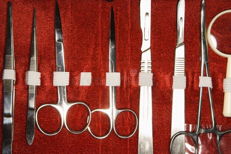 Trousse médicale. photo stock