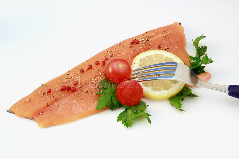 Trout Fillet Royalty Free Stock Photos