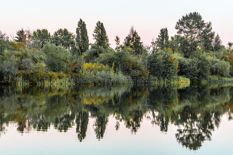 Trout Lake Park in Vancouver, Canada. Photo of Trout Lake Park in Vancouver, Canada royalty free stock images