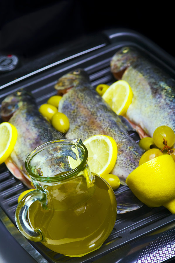 Download Trouts Stock Image - Image: 6965081
