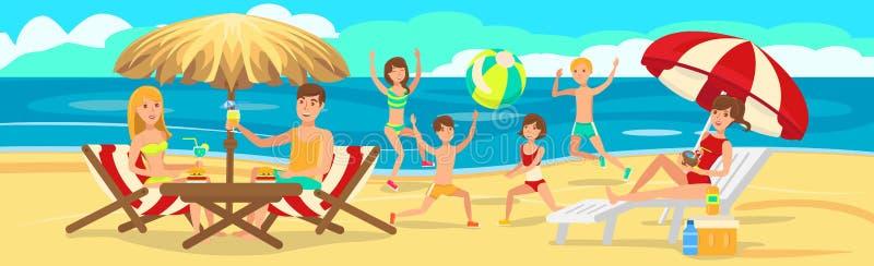 Trouvé en sable Reste actif de famille photo libre de droits