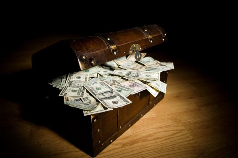 trouvaille d'argent comptant images stock