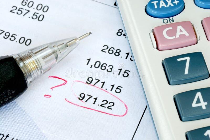 Trouvez une erreur pendant l'audit
