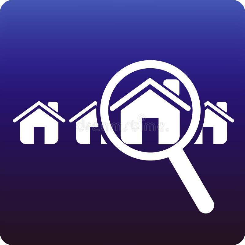 Trouvez une maison illustration de vecteur