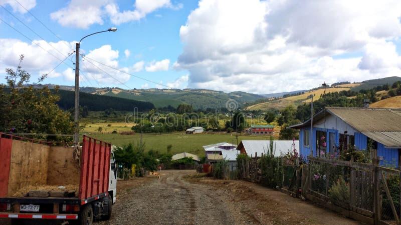 Trovolhue, o Chile foto de stock royalty free