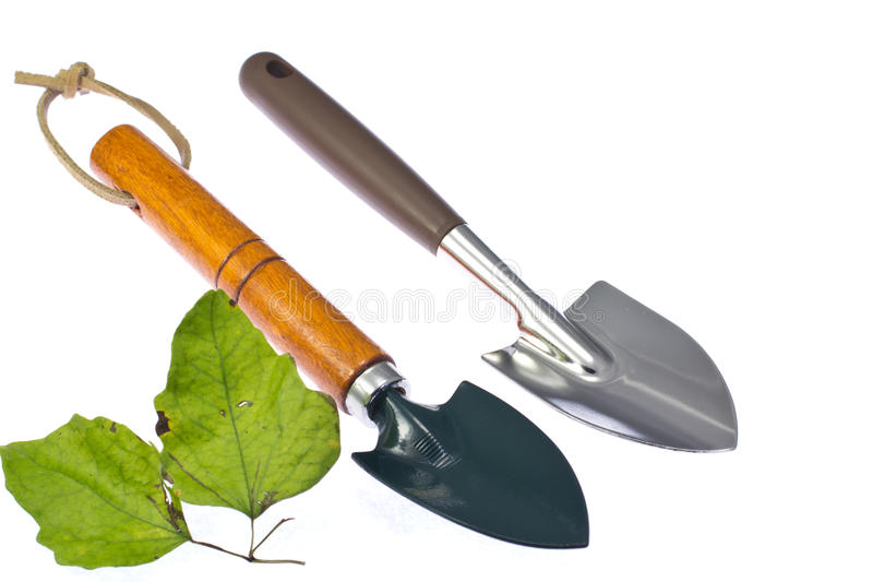 Trowel royalty free stock image