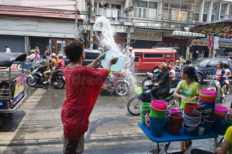trowing wody obrazy royalty free