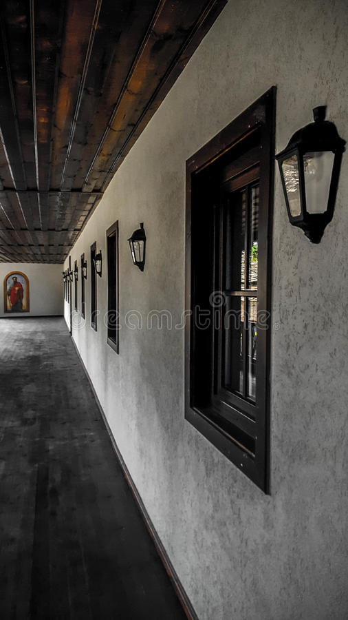 Troyan monastery royalty free stock images