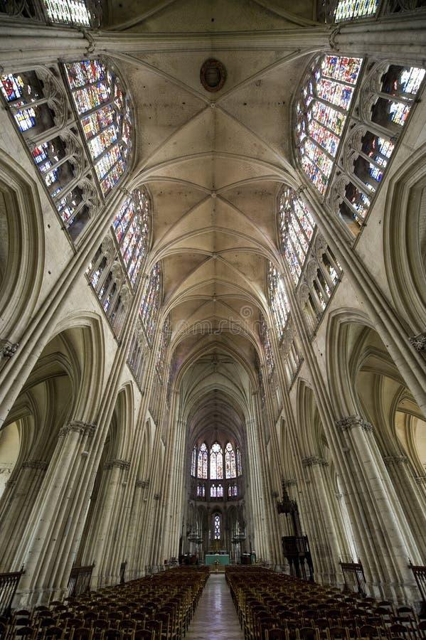 Troyes - catedral fotos de archivo
