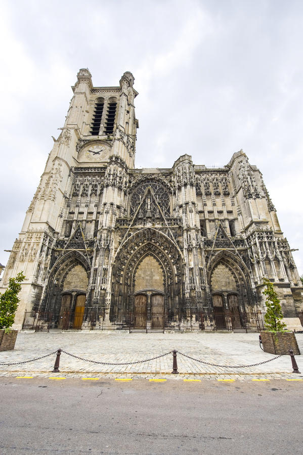 Download Troyes - Cathedral stock photo. Image of aube, medieval - 25229274