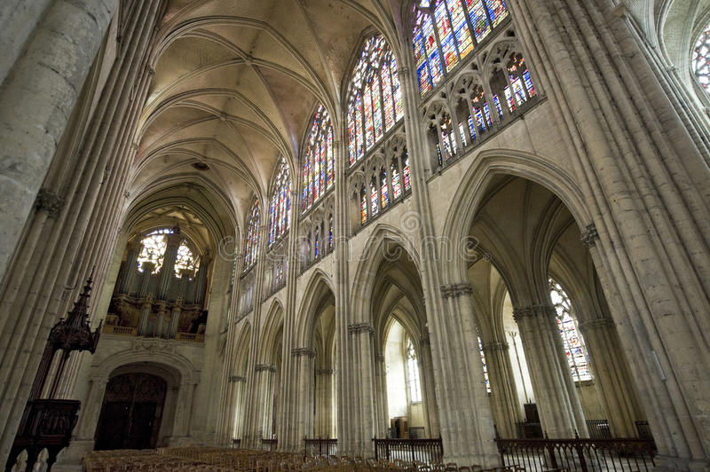Troyes - Cathedral Royalty Free Stock Image