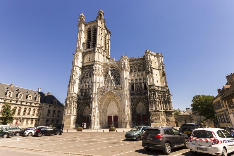 Troyes Frankrike royaltyfria bilder