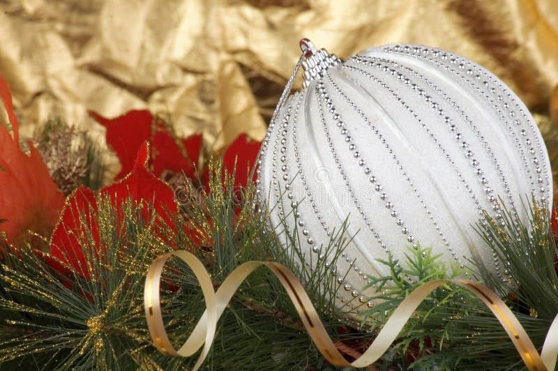 Trreedecoratie van Kerstmis stock foto