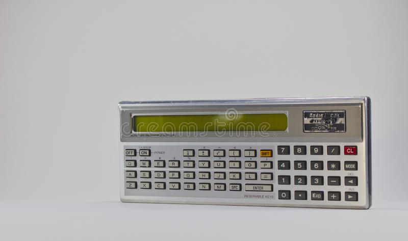 Trs- 80 zakcomputer 3146 royalty-vrije stock foto