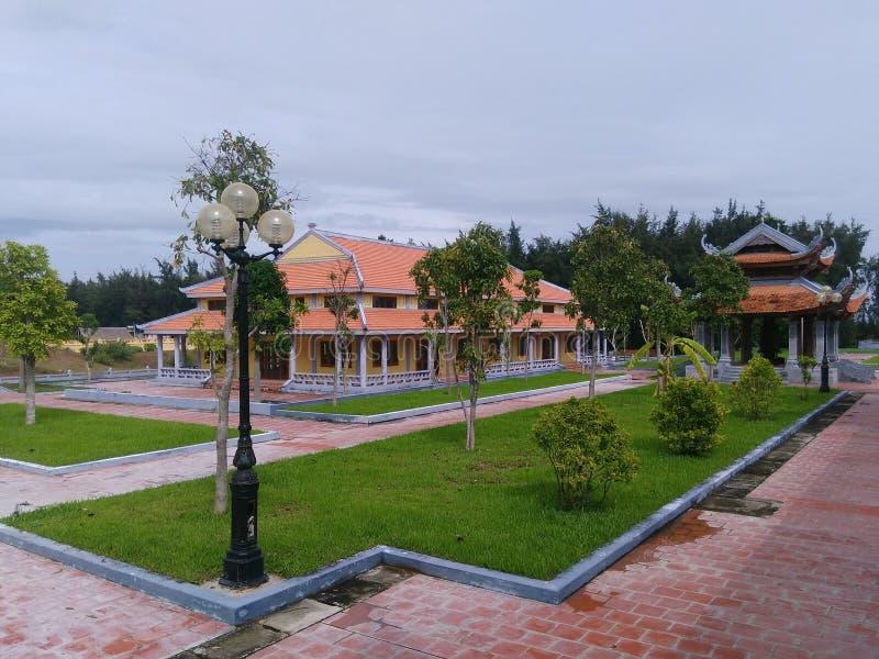 Truc Lam pagoda royalty free stock image