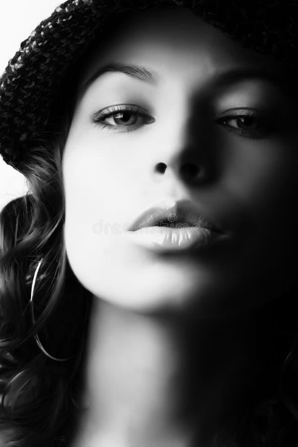 Trucco & modo fotografie stock