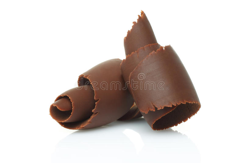 Trucioli del cioccolato immagini stock libere da diritti