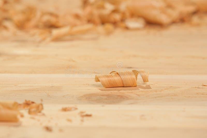 Trucioli di legno immagine stock