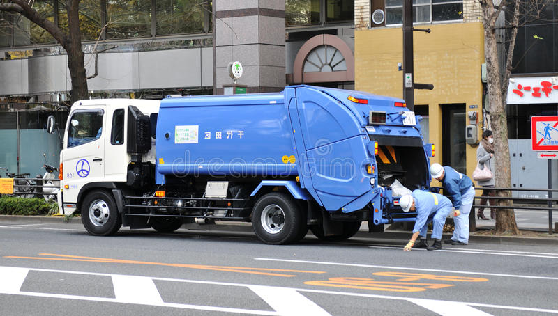 truck απορριμάτων στοκ φωτογραφίες με δικαίωμα ελεύθερης χρήσης