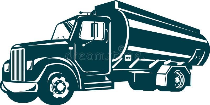 truck βυτιοφόρων μαζούτ απεικόνιση αποθεμάτων