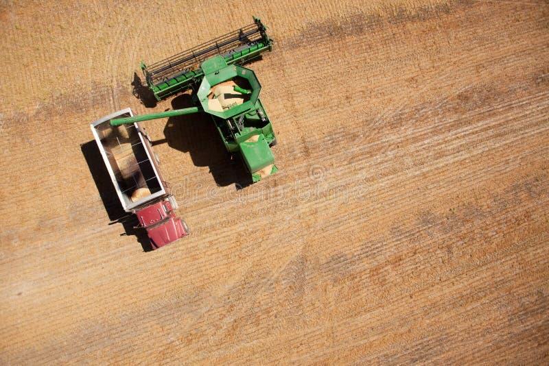 truck θεριστικών μηχανών σιταρ&iota στοκ εικόνα με δικαίωμα ελεύθερης χρήσης