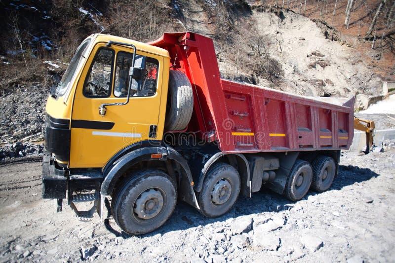 truck κατασκευής στοκ φωτογραφίες