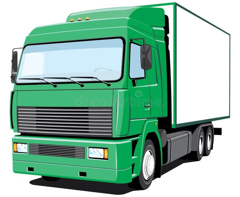 truck παράδοσης απεικόνιση αποθεμάτων