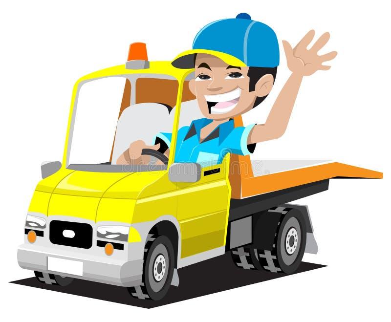 truck ρυμούλκησης απεικόνιση αποθεμάτων