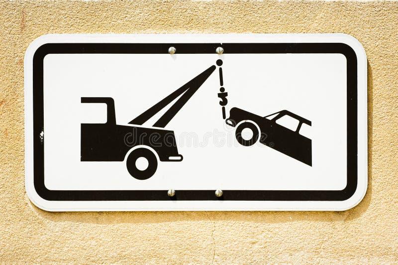 Truck ρυμούλκησης στοκ φωτογραφία με δικαίωμα ελεύθερης χρήσης