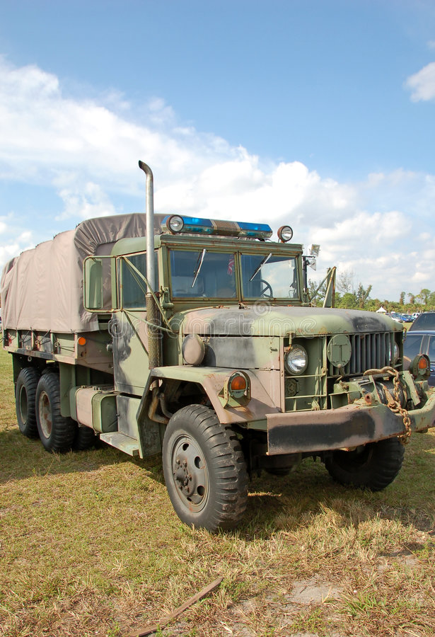 truck στρατιωτικής αστυνομίας στοκ εικόνα