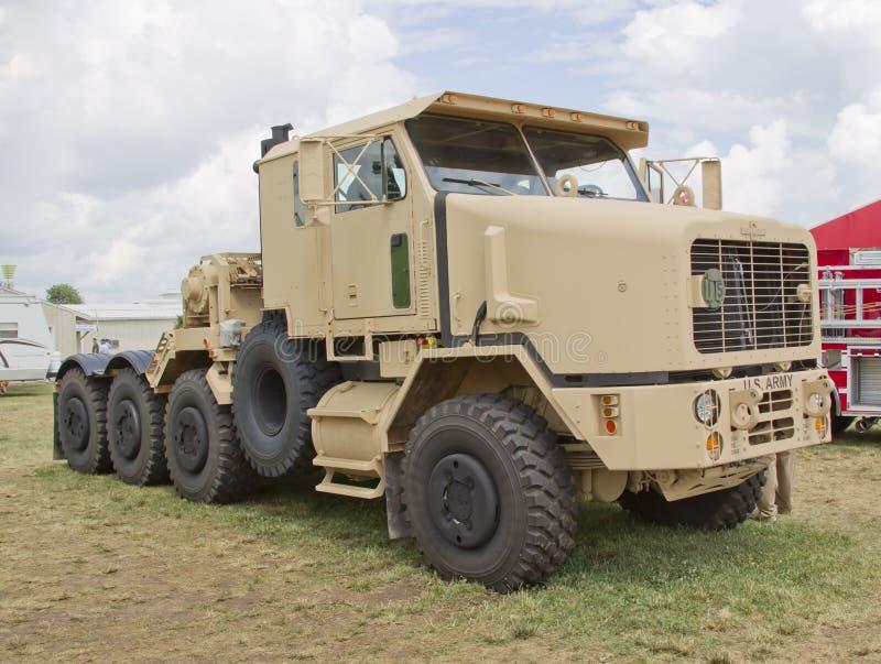 Truck στρατού Oshkosh στοκ εικόνα με δικαίωμα ελεύθερης χρήσης