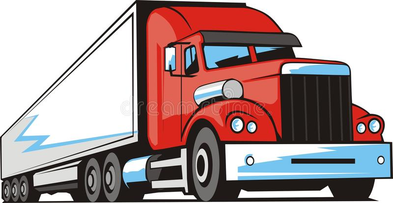 truck φορτίου ελεύθερη απεικόνιση δικαιώματος