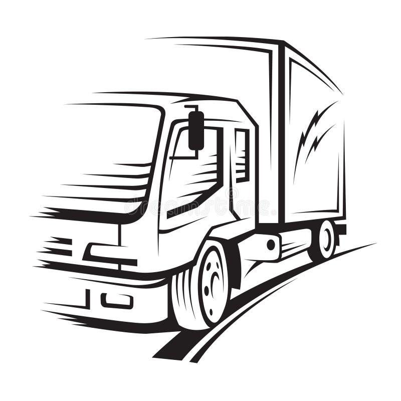 Download Truck stock vector. Image of cargo, transport, cartoon - 19387365