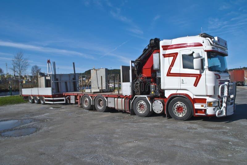 Download Truck stock illustration. Illustration of equipment, industrial - 24857464