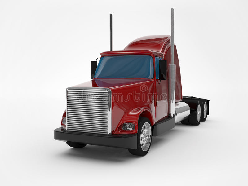 Download Truck stock illustration. Image of cargo, truck, semi - 28828131