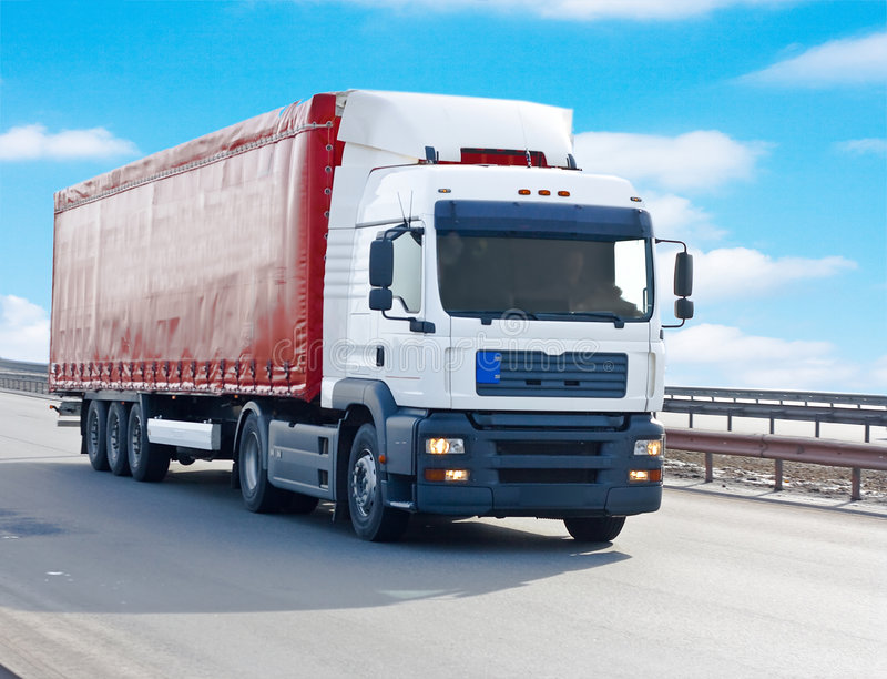 Download Truck stock image. Image of deliver, city, blank, large - 4888149