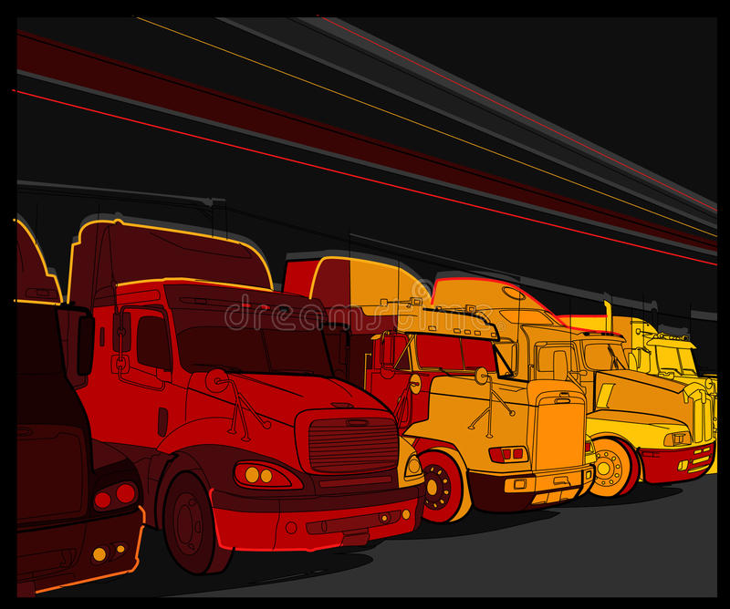 Truck 5 Royalty Free Stock Images