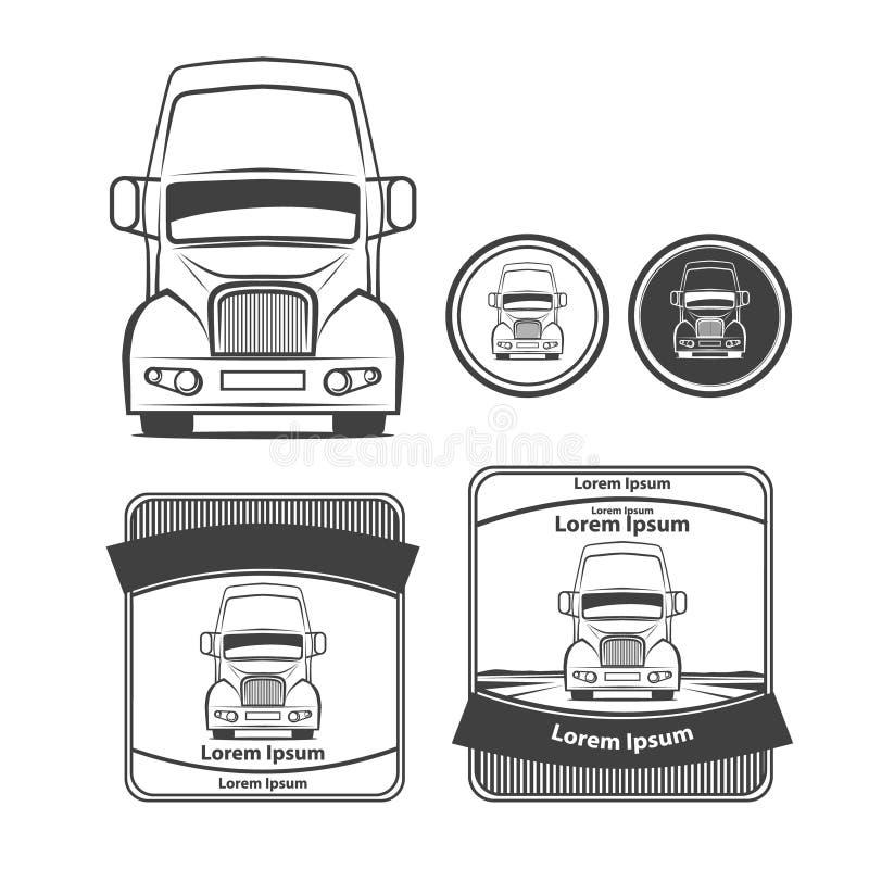 Truck7 ilustração royalty free