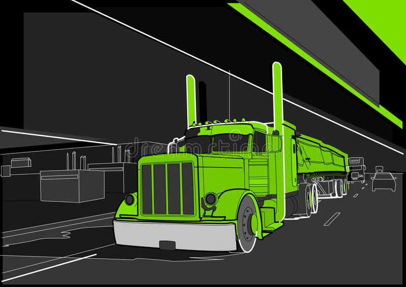 Download Truck 8 Royalty Free Stock Photo - Image: 18603585