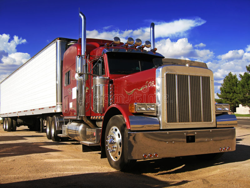 Truck. A Real American Truck royalty free stock photography