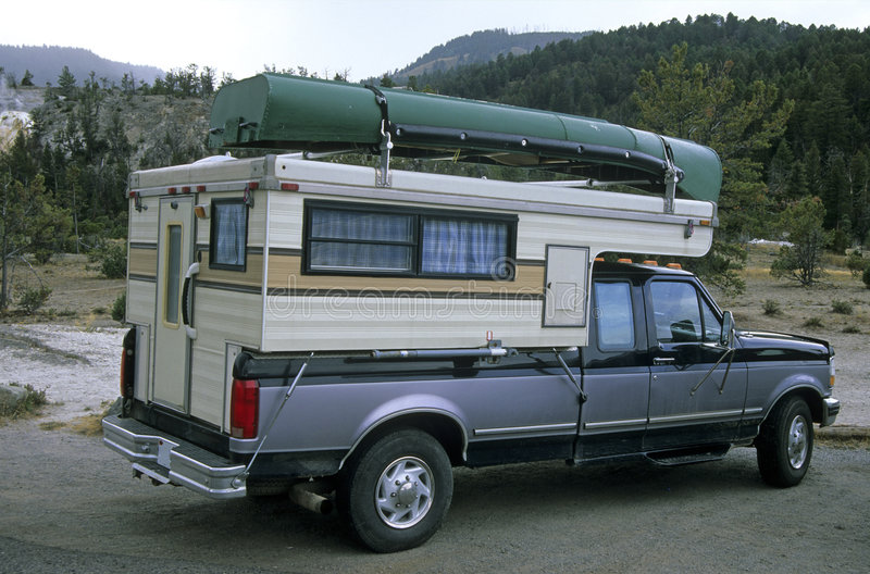Truck Camper 2 Royalty Free Stock Photo