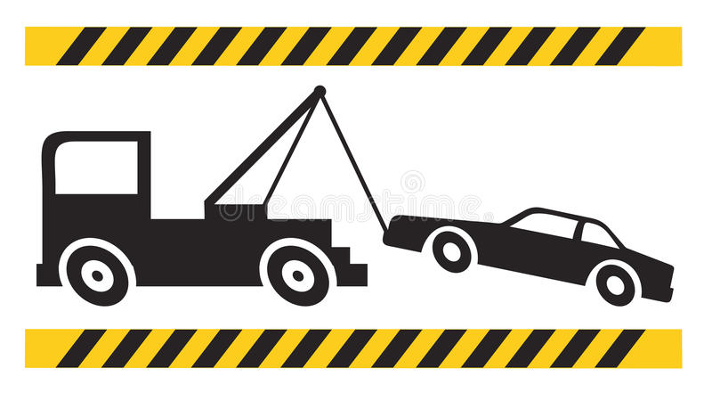 Download Truck and car stock vector. Image of warning, message - 25907406
